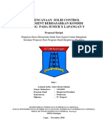 Proposal Skripsi Perencanaan Solid Control