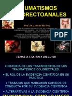Traumatismos Colorectoanales Prof. Dr. Del Rio Diez Luis