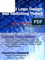 16678847 ECE103 Logic Design and Switching Theory Introduction and Chapter 1