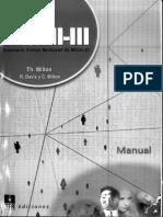 Manual Inventario (MCMI-III) (Tea Ed.)
