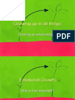 Growing Up in All Things - Emotional Growth III