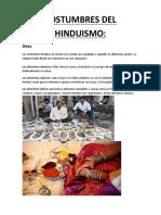 Costumbres Del Hinduismo