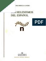 Los Helenismos Del Español