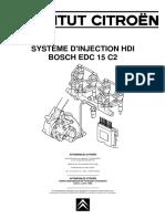 Bosch Edc 15 c2 Sur Dw10 Institut Citroen