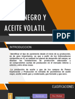 Aceite Negro y Aceite Volatil