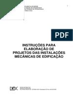Projetos Das Instalacoes Mecanicas de Edificacao