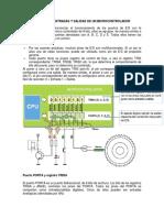 Programacion de Entradas y Salidas de Un Microcontrolador