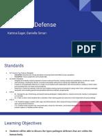 pathogen defense lesson presentation