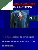 Signos y Sintomas de Ic