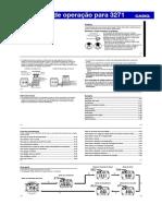Manual Relógio Casio Qw3271