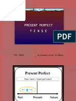 b2 Present Perfect Tense - Present Perfect vs Past Simple - Used To