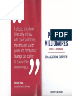 Patriotic Millionaires—Organizational Overview