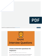 Www Talkingdotnet Com Grunt Js Interview Questions