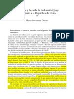 Occidente Y La Caida De La Dinastia Qing