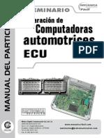 ECU _ Reparación de Computadoras Automotrices _ Seminario _ Manual del Participante.pdf