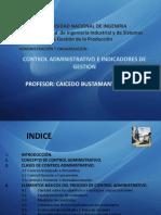 Control Administrativo e Indicadores de Gestión