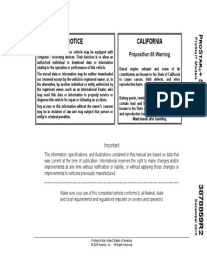 prostar pdf   Suspension (Vehicle)   Transportation Engineering