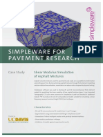 Simpleware for Pavement Research