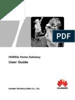 HG552e User Guide