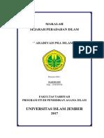 Arabiyah Pra Islam
