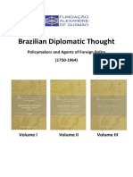 Brazilian Diplomatic Thought Complet