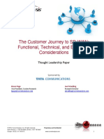 Tata the Customer Journey to Sd Wan Part 2