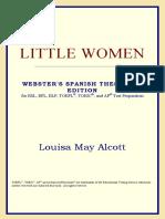 (Webster's Spanish Thesaurus Edition) Louisa May Alcott-Little Women -ICON Group International, Inc. (2006)