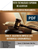 Unidad 3 Constitucion Legal de Persona Moral.