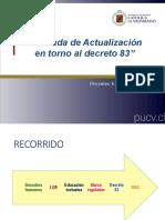 Jornada Actualización Decreto 83