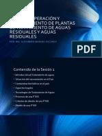 1. PONENCIA - Trat. de Aguas Residuales, Domestica.