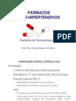 Fármacos Anti-hipertensivos