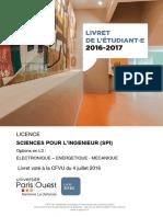 Licence SPI 2016-2017