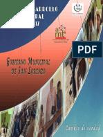 PDM San Lorenzo 2013-2017