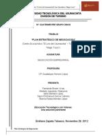 Plan Estrategico de Negociacion Centro e