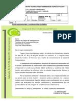 Carta de Invitacion a Ceremonias Formales