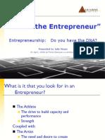 Final Fort is Entrepreneurship Dna Talk v 2