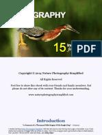 15 Incredible Bird Photography Tips