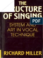 Fisiologia Vocal - The Structure of Singing Sydtem and Art in Vocal Technique - Miller - Editado