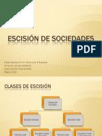 31732813 Presentacion Escision de Sociedades