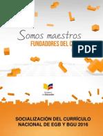 Currículo 2016