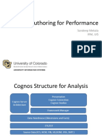 Cognos Performance