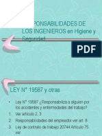 RESPONS. de Los Ing. Seg. Hig. Unidad 1