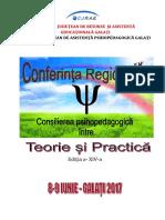Conferinta Regionala Galati 2017