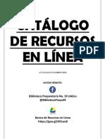Catálogo de Recursos en Línea