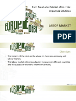 Euro Area Labor Market After Crisis