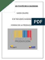 Codio de Produccion