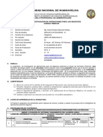 CB605-08 Silabo Inv Operaciones 16-II