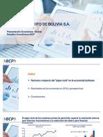 Bolivia presentacion economica