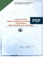 Informe Final 39-11 Municipalidad de Copiapo Auditoria de Ambiente Informatico-Enero 2012