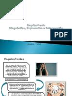 Esquizofrenia, Diagnóstico, Exploración e Intervención